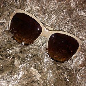 cream and leopard sunglasses